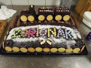 Bizcocho y tarta casera