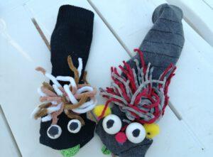 Marionetas de calcetín